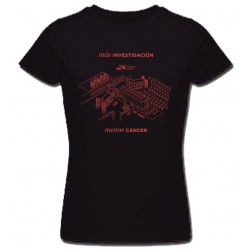Building Woman Tshirt Black - Size M
