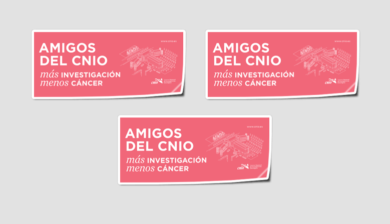 CNIO Friends stickers